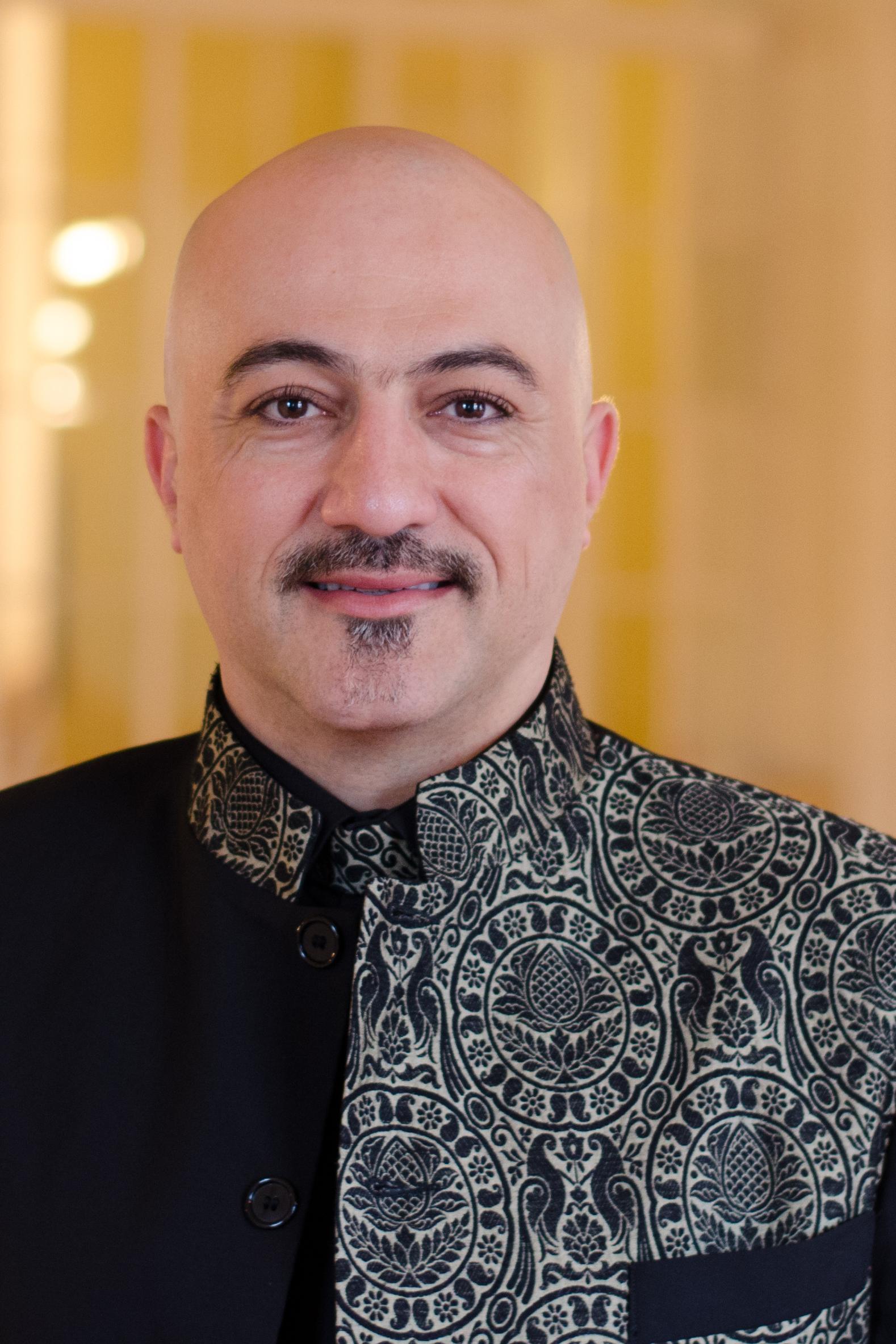 Porträt von Hooman Khalatbari